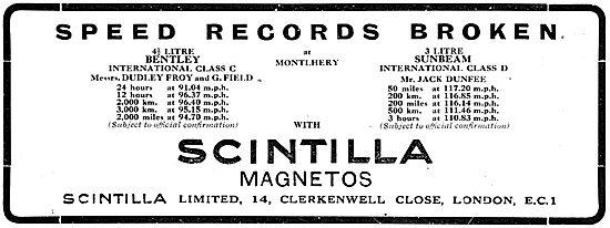 Scintilla Magnetos