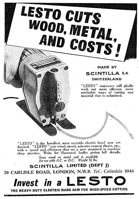 Scintilla Lesto Band Saw - Wood & Metals
