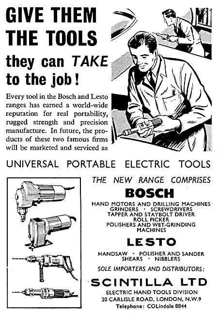 Scintilla Lesto Metal Shearing & Cutting Tool - Electric Hand Saw