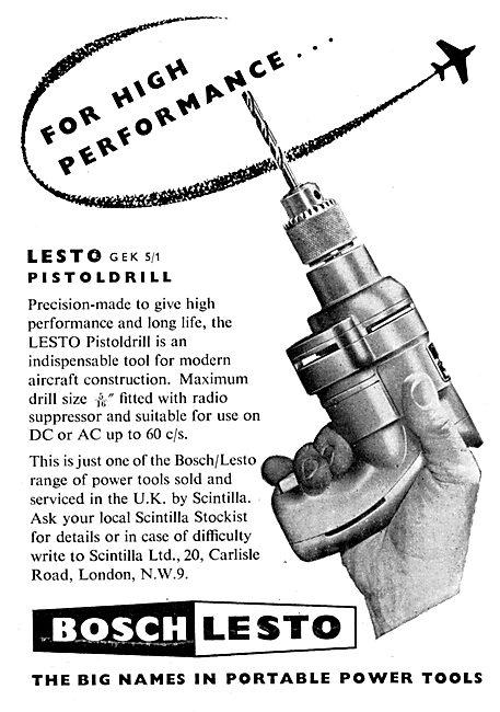Bosch Lesto Portable Power Tools
