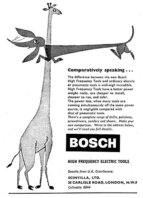 Bosch High Frequency Electric Tools