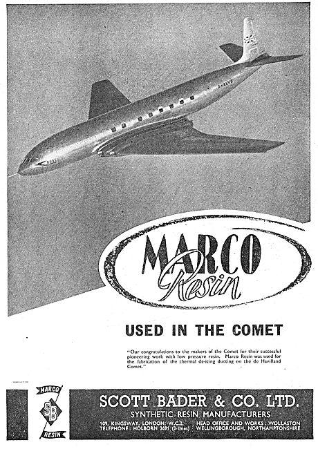 Scott Bader Marco Resin For Comet De-Icing Ducting