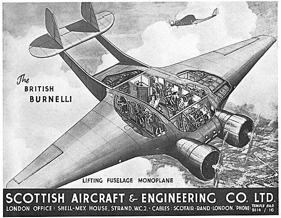 Scottish Aircraft British Burnelli - Lifting Fuselage
