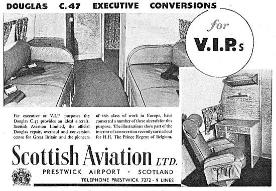 Scottish Aviation - Dakota DC3  Executive Conversions