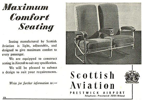 Scottish Aviation - Maximum Comfort Aircraft Seating