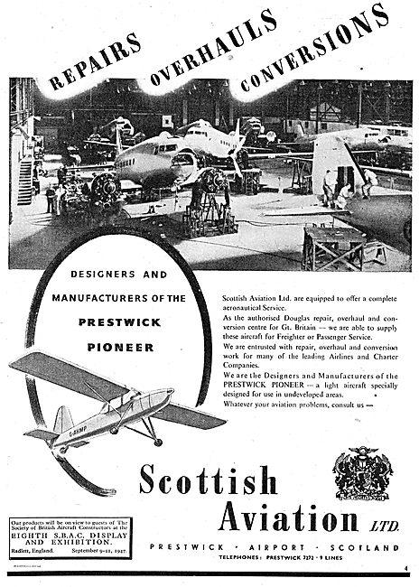 Scottish Aviation Aircraft Repairs, Overhauls & Conversions