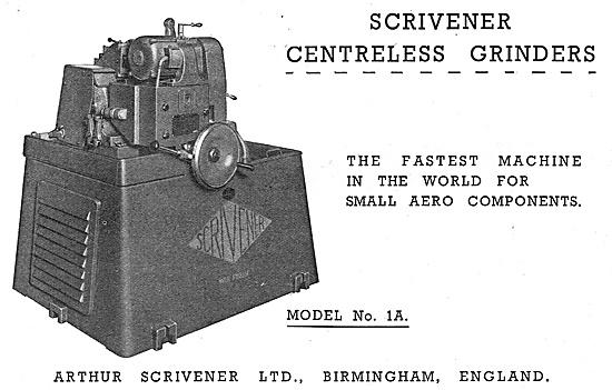 Scrivener Machine Tools - Scrivener Centreless Grinders