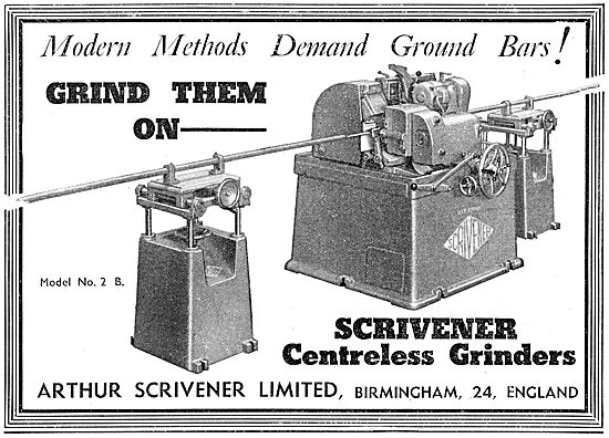 Scrivener Machine Tools - Scrivener Centreless Grinders