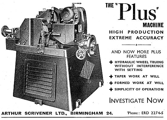 Scrivener Machine Tools - Scrivener Plus Machine 1942