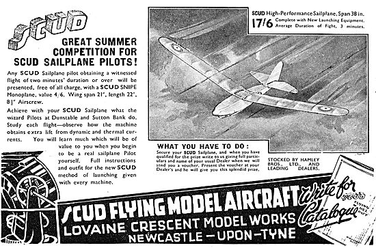 Scud Flying Model Aircraft - Summer Competition For Scud Pilots