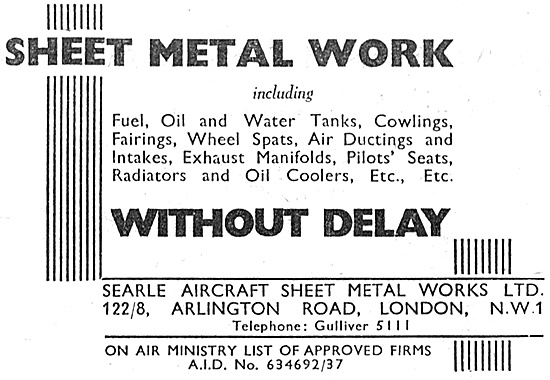 Searle Aircraft & Sheet Metal Works