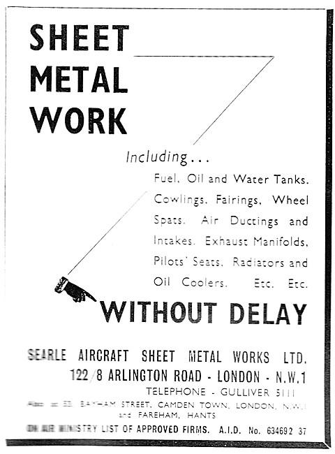 Searle Aircraft Sheet Metal Work