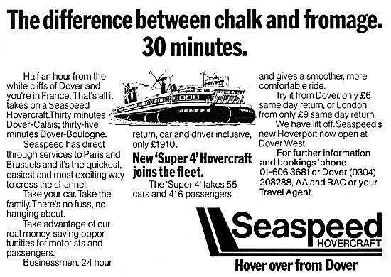Seaspeed Hovercraft - Super 4 Hovercraft 1978
