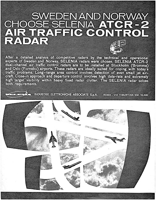 Selenia Air Traffic Control Radar Systems 1962