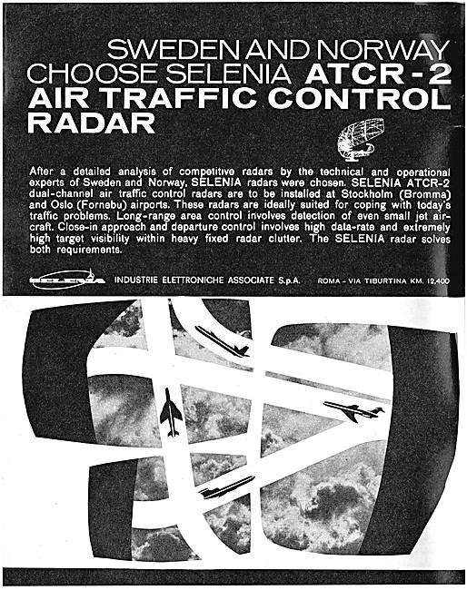 Selenia Air Traffic Control Radar Systems 1963