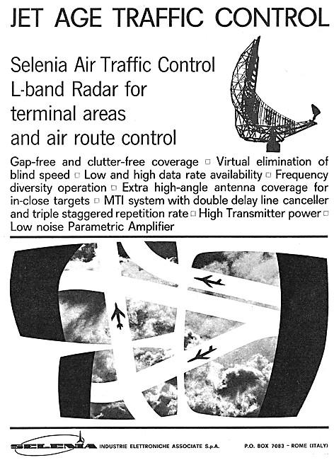 Selenia L-Band Air Traffic Control Radar Systems 1964