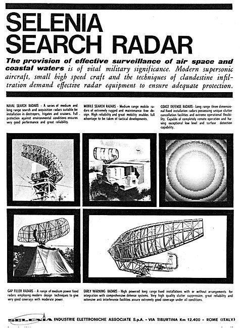 Selenia Search Radar Systems 1966