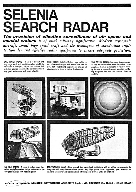 Selenia Surveillance Radar Installations