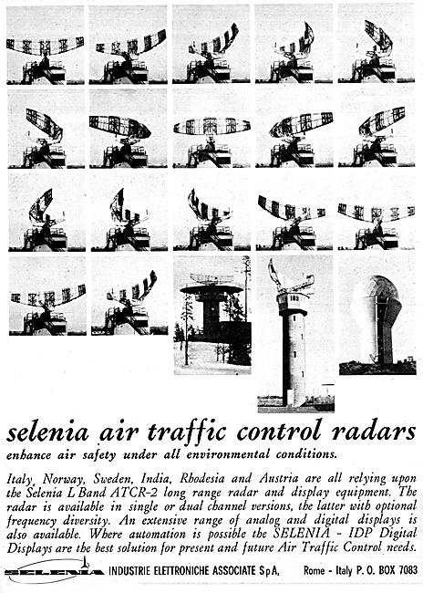 Selenia Air Traffic Control Radar Systems 1967
