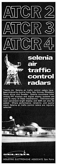 Selenia ATCR 2 Air Traffic Control Control Radar