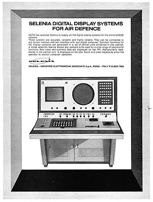 Selenia Digital Air Defence Display Systems
