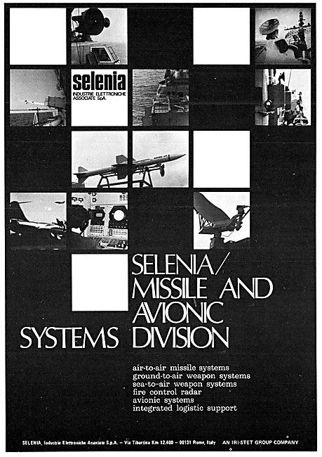 Selenia Missiles & Avionics 1974