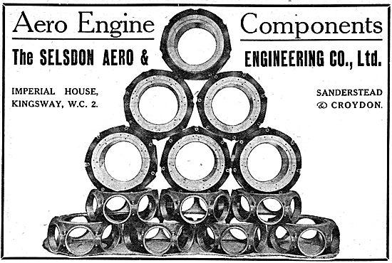 Selsdon Engineering. Sanderstead & Croydon. Aeronautical Engineer