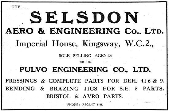 Selsdon Aero & Engineering - Aeronautical Engineering - Pulvo