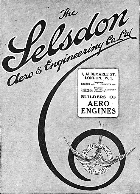 Selsdon Engineering: Manufacturers Of  Aero Engine Components