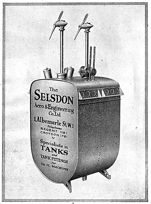 Selsdon Engineering - Aircraft Fuel Tanks