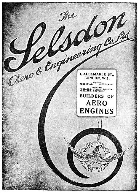 Selsdon Engineering:  Aero Engines - ABC