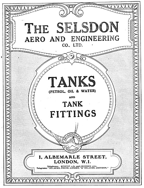 Selson Engineering - Aircraft Tanks & Fittings
