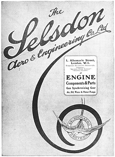 Selson Engineering - Aeronautical Engineers 1918