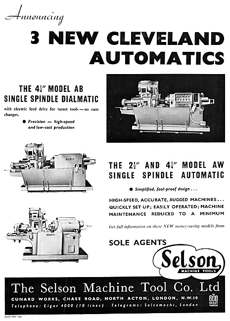 Selson Machine Tools