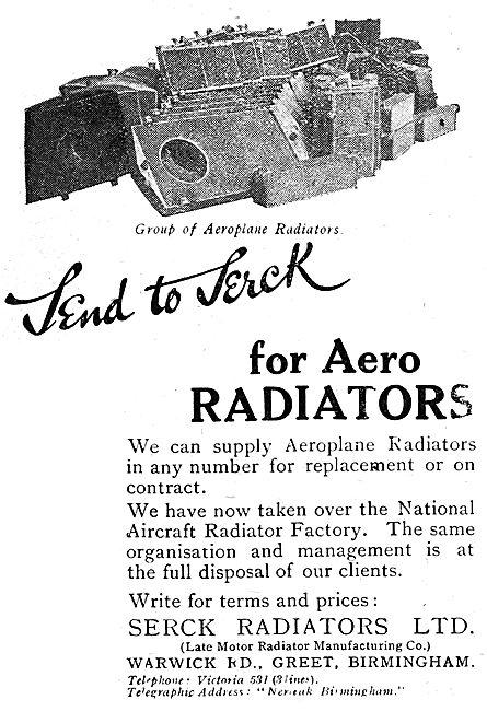 Serck Aero Radiators