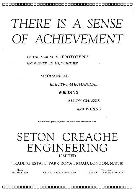 Seton Creaghe Engineering. - Prototyping