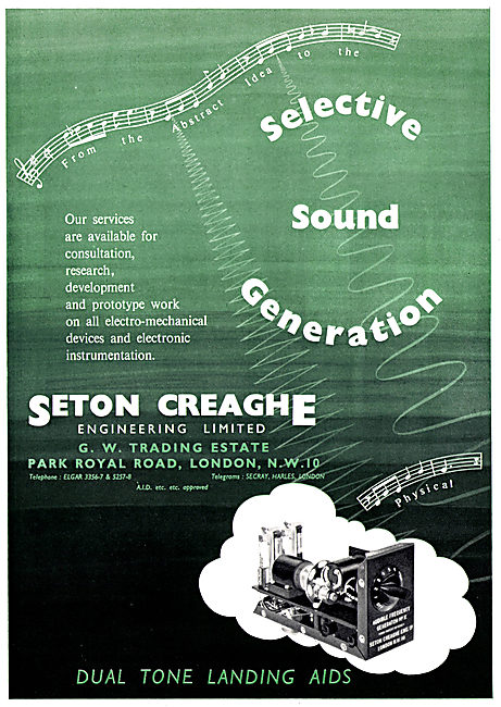 Seton Creaghe Engineering. - Selective Sound Generation