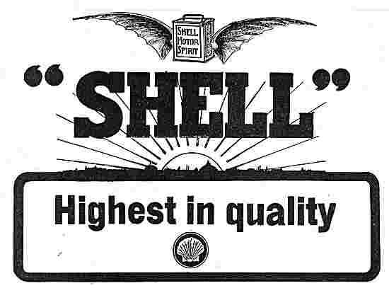 Shell Aviation Spirit - Highest In Quality