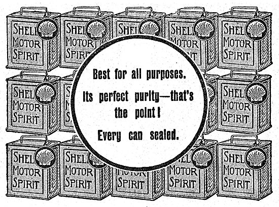 Shell Motor Spirit For Perfect Purity