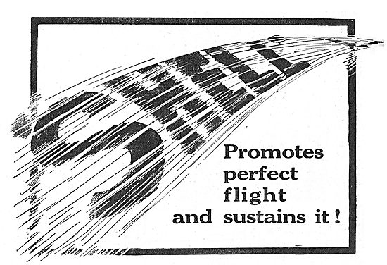 Shell Promotes Perfect Flight And Sustains It!