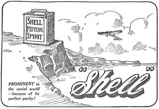 Shell Spirit Is Prominent In the Aviation World