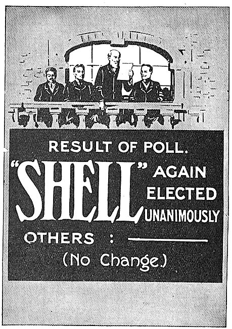 Result Of Poll: Shell Again Elected Unanimously.