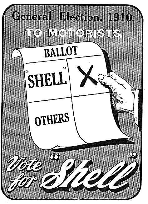 General Election 1910 Shell Wins Ballot