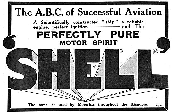 The ABC Of Successful Aviation Using Shell Motor Spirit