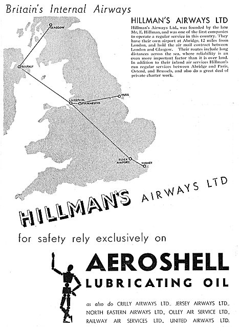 Aeroshell Hillmans Airways