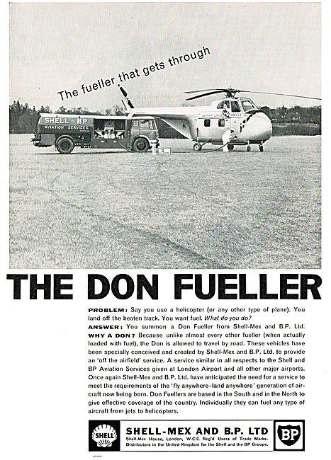 Shell Mex & BP Ltd. The Don Fueller That Always Gets Through.
