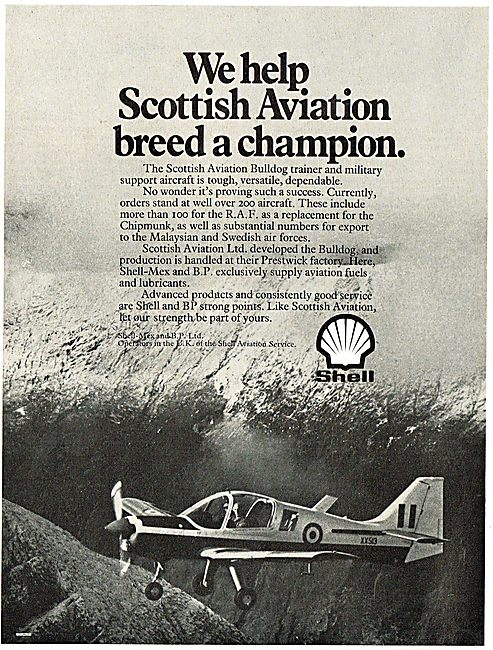 Shell Mex & BP: We Help Scottish Aviation Breed A Champion