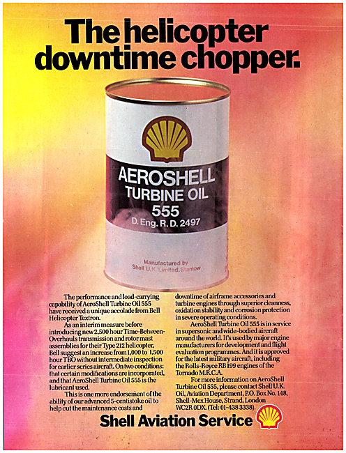 Shell Aeroshell Turbine Oil 555