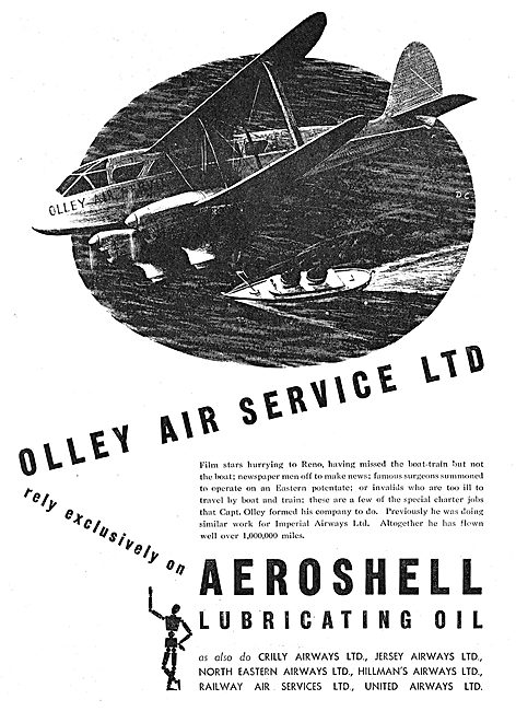 Aeroshell Olley Air Service