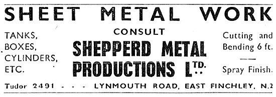 Shepperd Metal Productions - Sheet Metal Work